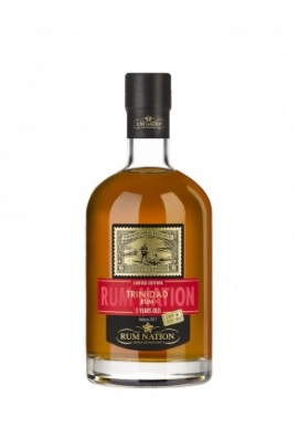 Rhum Nation Trinidad 5 ans 70cl 46%, Melasse, Trinite & Tobago