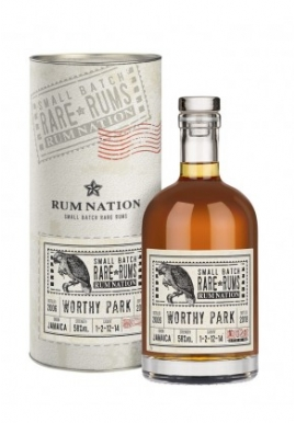 Rhum Nation Worthy Park 2006/12ans 70cl 58%, Melasse, Jamaique