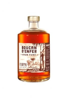 Rhum Ferroni Boucan D\'Enfer 70cl 50%, France