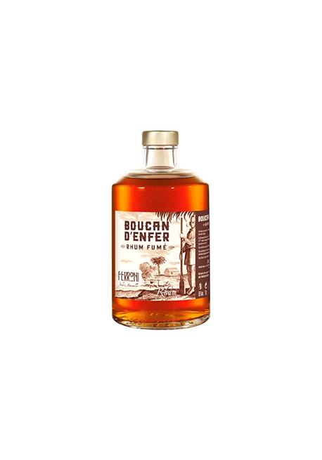 Rhum Ferroni Boucan D'Enfer 70cl 50%, France