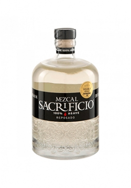 Mezcal Sacrificio Reposado 100% Agave 75cl 40%, Mexique