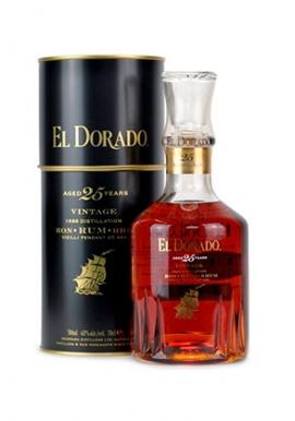 Rhum El Dorado 25 ans 70cl 43%, Guyane