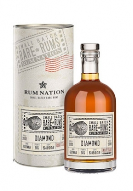 Rhum Nation Diamond SXG 2003/ 15ans 70cl 58%, Guyana