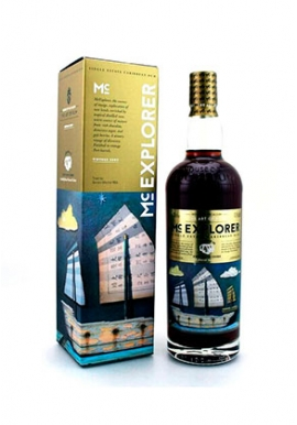 Rhum House of McCallum Mc Explorer Single Estate 2009 70cl 43.5%, Ecosse
