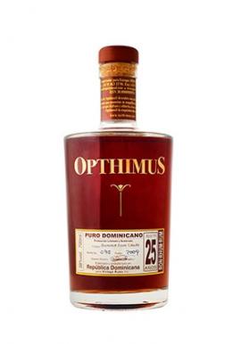 Rhum Opthimus 25 ans Summa Cum Laude 70 cl 38%, Mélasse, République Dominicaine