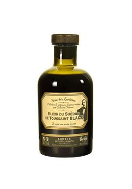 Liqueur Elixir Suedois de Toussaint Blaize 35% 50cl, France