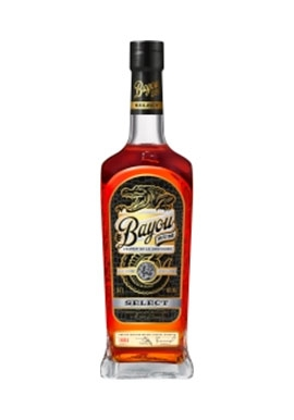 Rhum Bayou Select 70cl 40%, Louisiane, Etats-Unis
