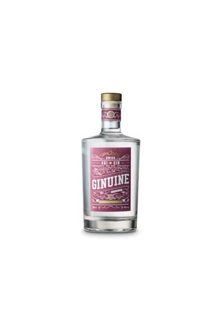 Gin Ginuine Strawberry 70cl 40%, Suisse