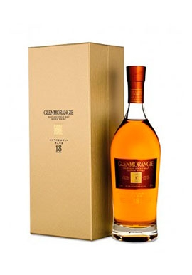 Whisky Glenmorangie 18 Years Single Malt 70cl 43%, Ecosse / Highlands