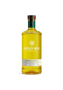 Gin Whitley Neil Lemongrass & Ginger 70cl 43%,  Royaume-Uni