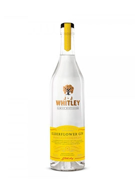 Gin JJ Whitley Elderflower 70cl 40%,