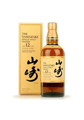 Whisky Yamazaki Single Malt 12ans 70cl 43%, Japon