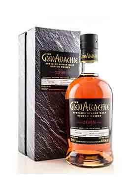 Whisky GlenAllachie Speyside Single Malt 2008 Cask 569 Port Pipe 70cl 54.8%,