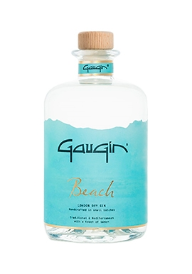 Gin Gaugin Beach Small Batch Handcrafted / 50cl / 46%, Belgique