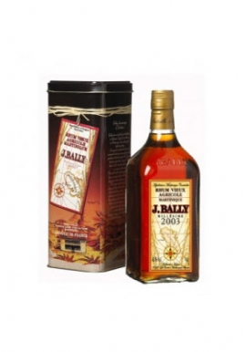 Rhum J.Bally 2003 70cl 43%, France / Martinique