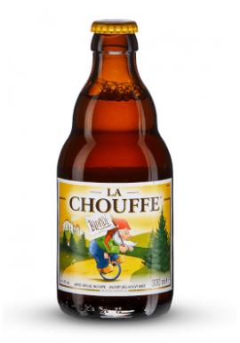 Bière La Chouffe Blonde 8% 33cl, Belgique