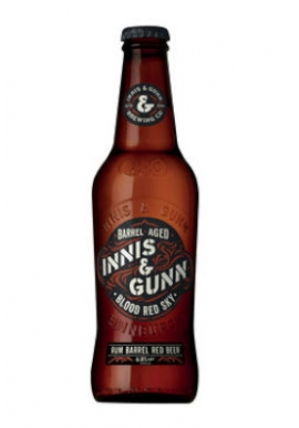 Bière Innis & Gunn Blood Red Sky *Rum Finish 33cl 6.8%, Ecosse