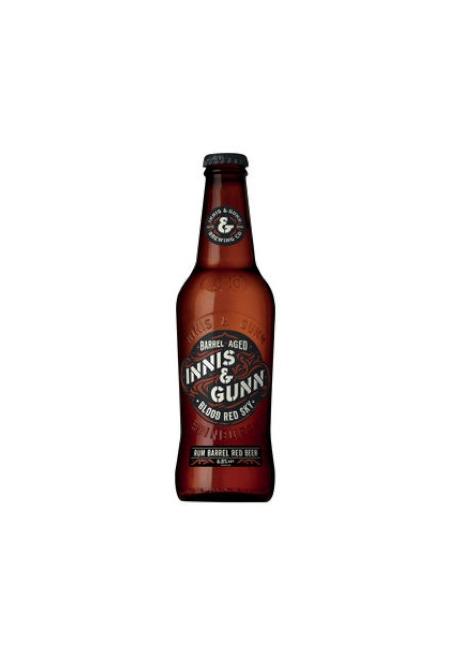 Bière Innis & Gunn Blood Red Sky *Rum Finish 33cl 6.8%, Ecosse