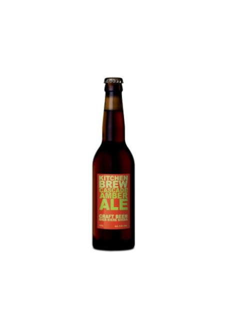 Bière Kitchen Brew Cascade Amber 33cl 5,8%, Suisse