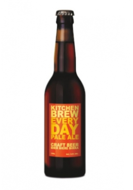 Bière Kitchen Brew Every Day lager 33cl 4,5%, Suisse