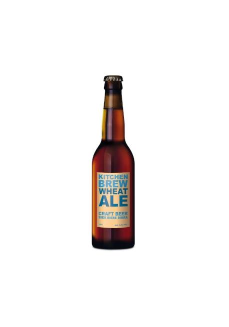 Bière Kitchen Brew Wheat Ale 33cl 5,5%, Suisse