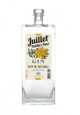 Gin Juillet Main de Bouddha 44% 50cl, France