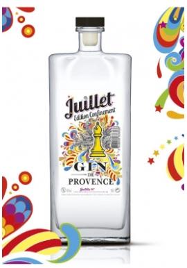 Gin Juillet éd. Confinement 44% 50cl, France