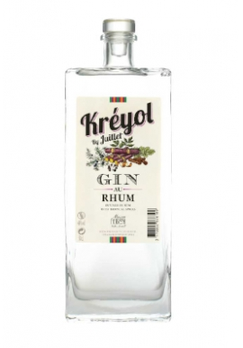 Gin Kréyol by Juillet ( Gin au Rhum ) 50cl 44%, France