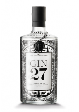 Gin 27 70cl 43%, Suisse