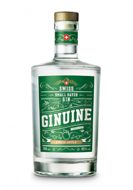 Gin Ginuine Swiss Apple 70cl 40%, Suisse