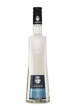 Liqueur Joseph Cartron Peppermint Blanc 50cl 24%, France