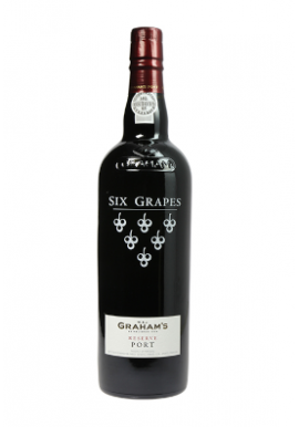 Porto Graham\'s Six Grappes 75cl 20%, Portugal