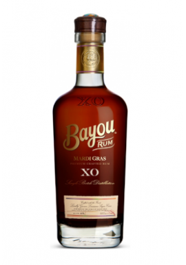 Rhum Bayou Mardi Gras XO 70cl 40%, Louisiane