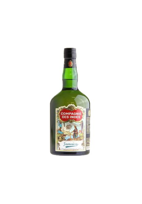 Rhum Compagnie des Indes Jamaica 5ans - Blend from Jamaica 70cl 43%