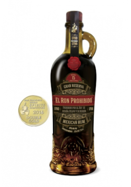 Rhum El Prohibido 15ans Old Solera Finest Blended Reserva 70cl 40%, Mexique