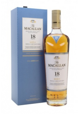 Whisky Macallan 18ansTriple Cask Matured 70cl 43%,  Ecosse