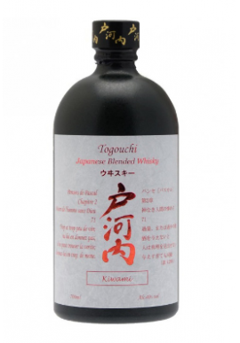 Whisky Togouchi Kiwani 70cl 40%, Japon