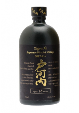 Whisky Togouchi 18ans Blended 70cl 43.8%, Japon