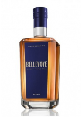 Whisky Bellevoye Bleu  70cl 40%, France