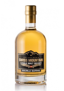 Whisky Swiss Mountain Double Barrel Single Malt 50cl 43%, Suisse