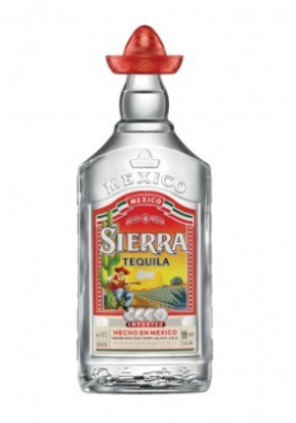 Tequila Sierra Silver 70cl 38%, Mexique