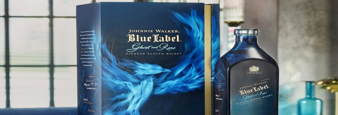 JW Blue Label Ghost